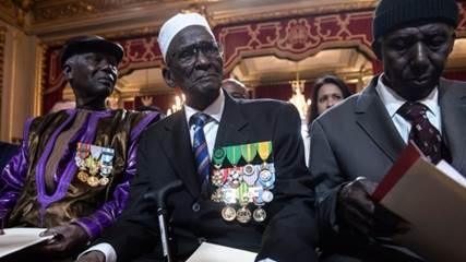 African WW II veterans