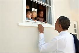 Obama speaks to children