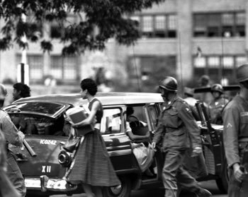 Photos of Little Rock Nine