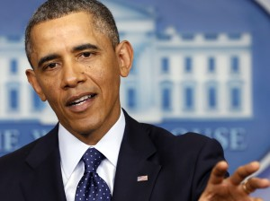 Obama speaks about the sequester in Washington
