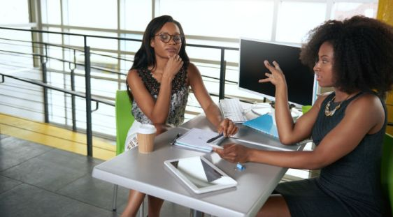 Two-black-women-in-the-office
