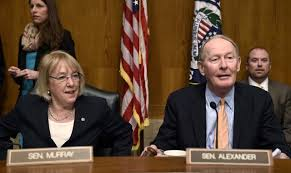 Sens. Patty Murray and Lamar Alexander