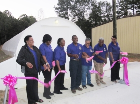 Union ribbon cutting